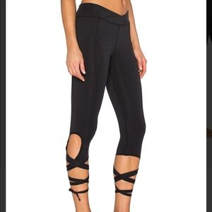 Free people lace-up leggings